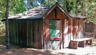 Chief's House were based on conical Miwok homes, but built using Euro-American technology.
