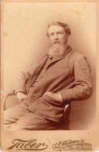 Portrait photograph of Thomas Hill