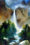 Painting of Bridalveil Fall