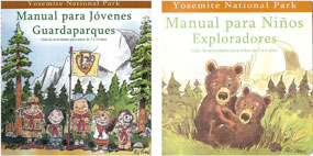 Cover of guidebooks with Spanish titles