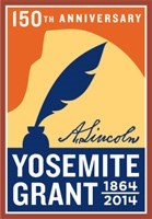 150th Anniversary of the Yosemite Grant logo