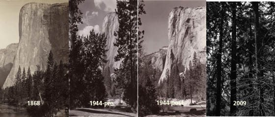 Four Views of El Capitan