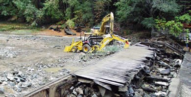 Removal of Cascades Diversion Dam.