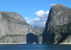 View of Hetch Hetchy Valley.