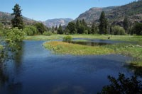 Poopenaut Valley is part of the final 5-mile segment of the Tuolumne Wild and Scenic River in Yosemite National Park.