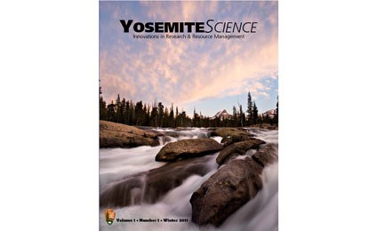 Cover of first issue of Yosemite science publication