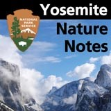 Yosemite Nature Notes logo.