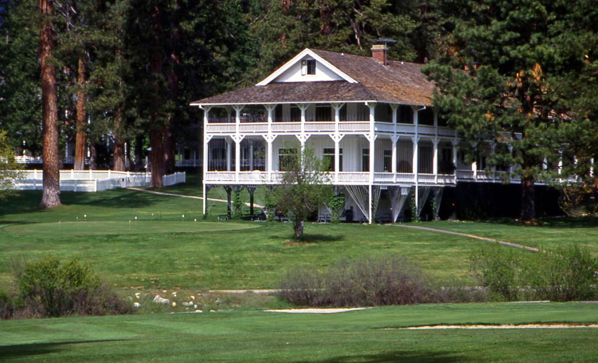 Historic hotel and golf course