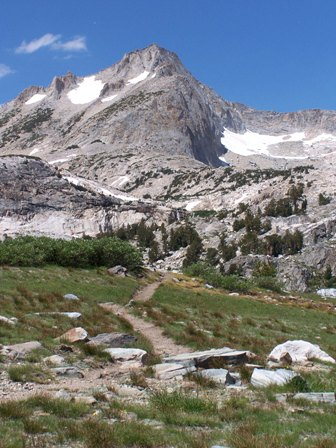 Trail to North Peak near Yosemite's northwestern boundary