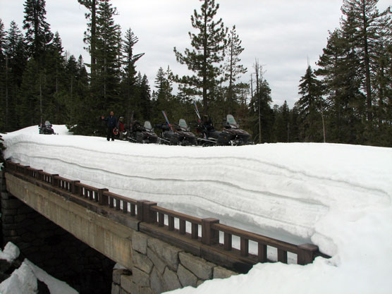 Sne i Yosemite