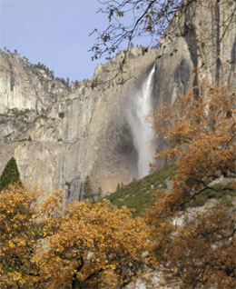 Yosemite in the fall.