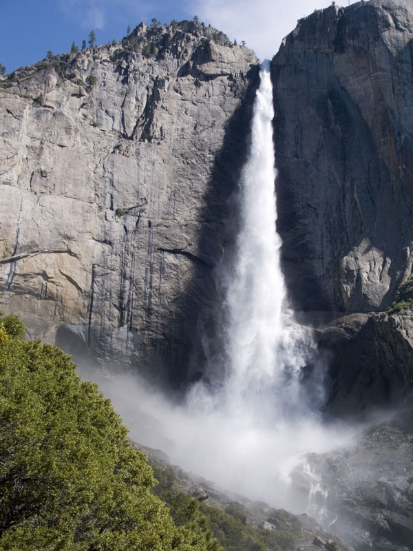 National Park Service photo of Upper Yosemite Falls
