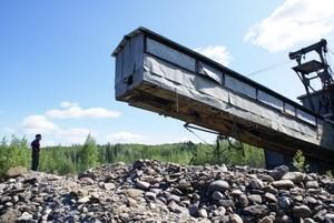 Industrial Mining at Coal Creek - Yukon - Charley Rivers