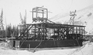 Dredge during Assembly 1935