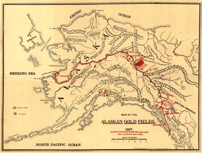 Klondike Alaska Gold Rush Yukon Charley Rivers National Preserve