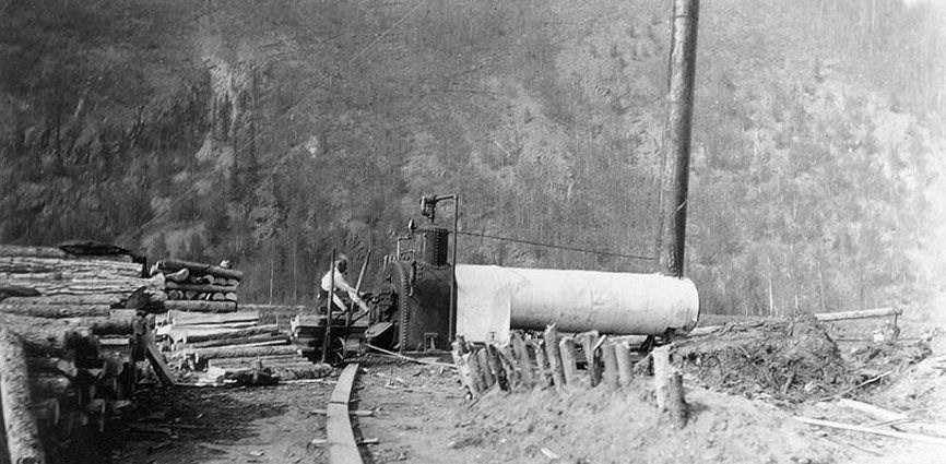 Coal Creek Steam Boiler and Permafrost Thawing - Yukon - Charley ...