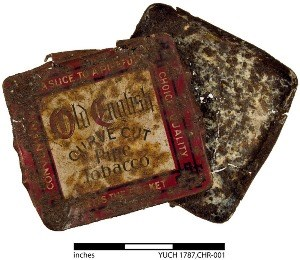 Historic tobacco tin