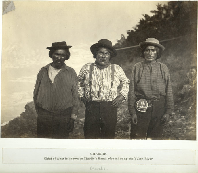 Chief Charley and friends circa 1882