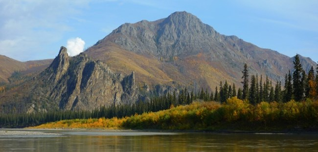 Devil's Thumb on the Yukon River