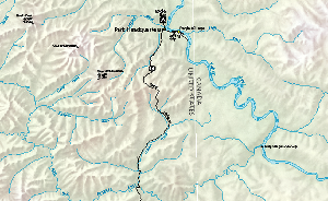 Map of the Taylor Highway