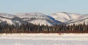 Longer days of spring on the Yukon River