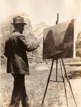 Artist In Residence Program Zion National Park U S National Park Service