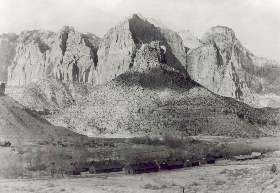 CCC Camp in Zion Canyon