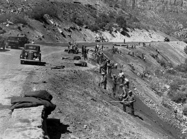 a history of the civilian conservation corps Explore rl phillips's board civilian conservation corps on pinterest | see more ideas about history, posters and conservation.