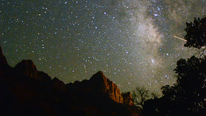 Night Skies Zion National Park U S National Park Service