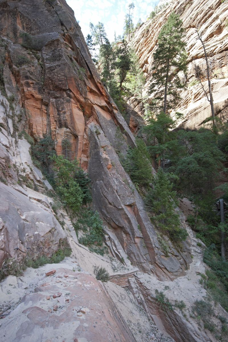 Hidden Canyon Rockfall