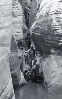 John Winder in Echo Canyon circa 1925