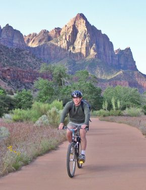 Bicycling on Par'rus Trail