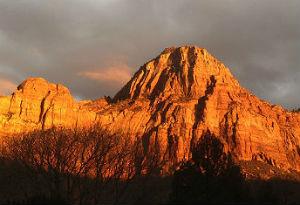 Sunset Stargazing Zion National Park U S National Park Service