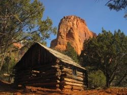 Larson Cabin in Kolob Canyons Wilderness