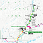 Maps - Zion National Park (U.S. National Park Service) Zion National Park Map on