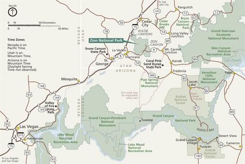 Maps   Zion National Park (U.S. National Park Service)