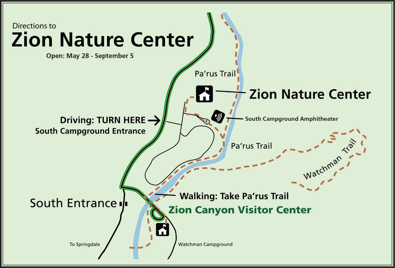 Zion Nature Center Zion National Park